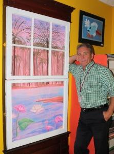 LS Art Teacher Lloyd Cicetti