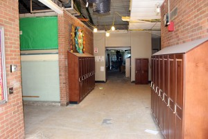Middle School Hallway