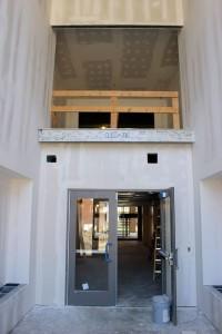 Morris Hall Entrance